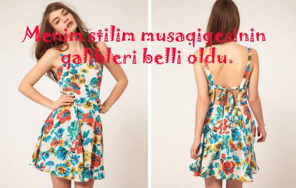 """""""Mənim stilim"""" müsabiqəsinin qalibləri bəlli oldu!"""