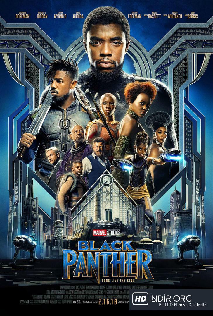 Kara Panter - Black Panther indir (2018) Türkçe Dublaj HD Film indir
