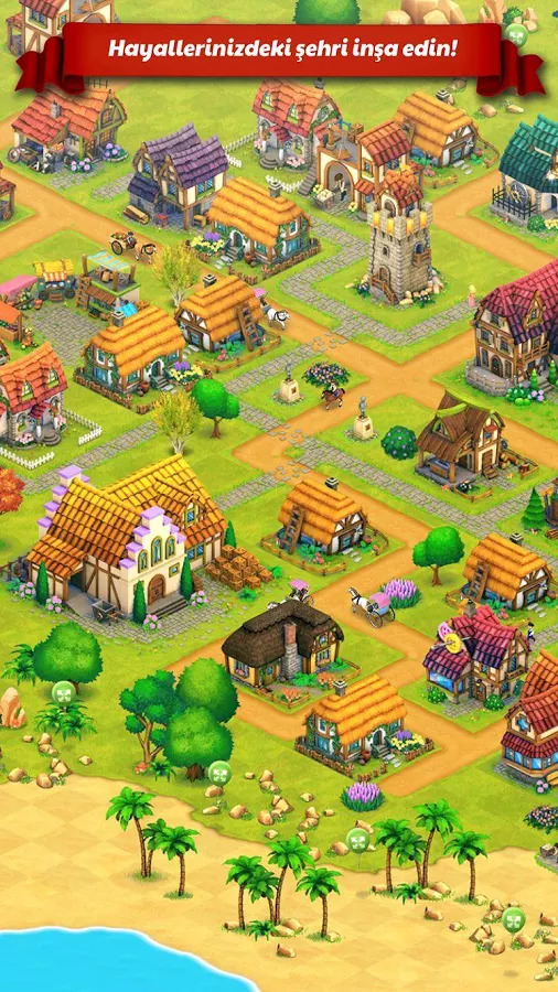 Town Village: Farm, Build, Trade, Harvest City Apk