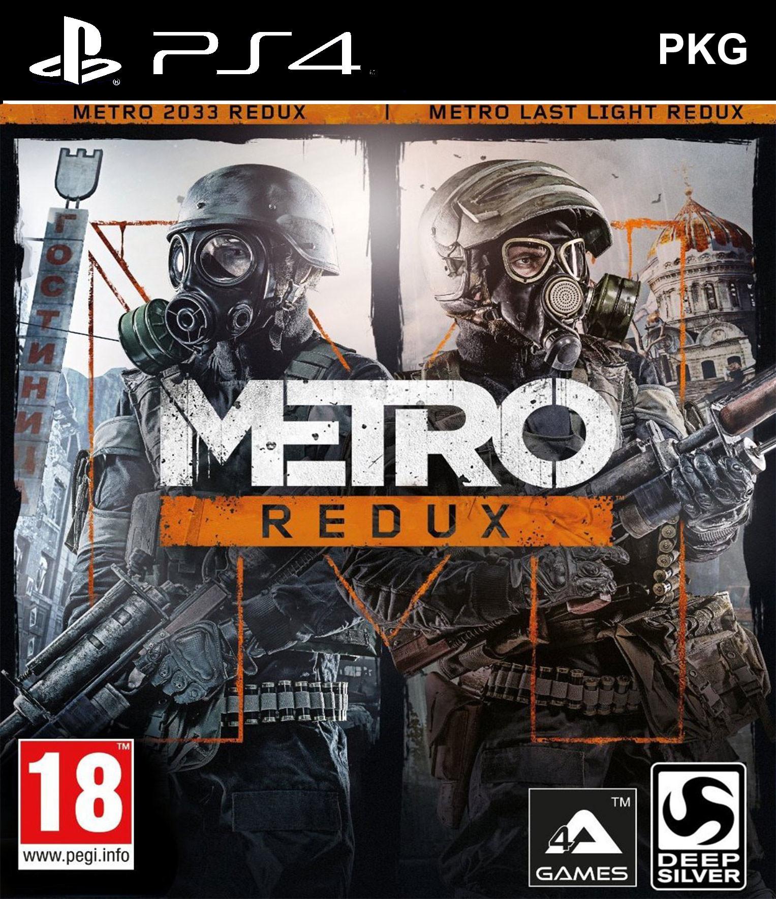 Metro Redux PKG Oyun İndir ! [4.05