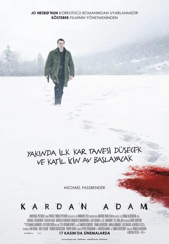Kardan Adam – The Snowman 2017 Türkçe Dublaj izle
