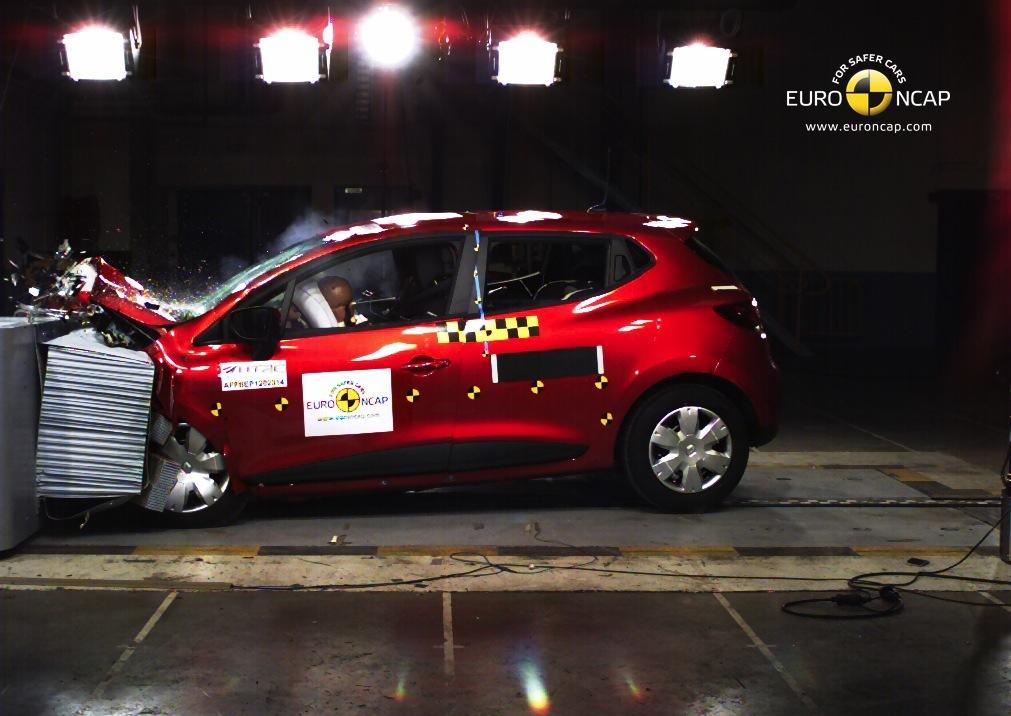 Renault Twingo 2014 Çarpışma Testi