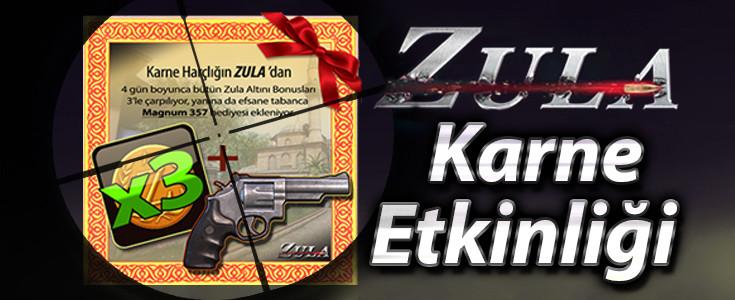 Zula'dan Çilgin Karne Etkinligi!