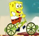 Sünger Bob Bisiklet Oyunu