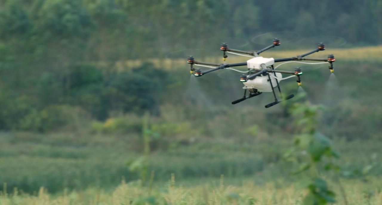 DRONE İLE TARIMSAL İLAÇLAMA DÖNEMİ