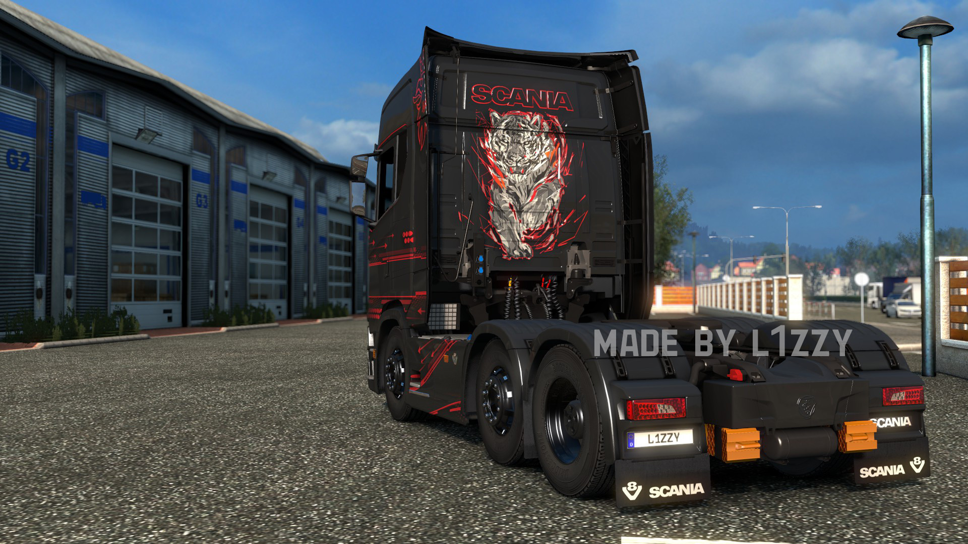 Scania S - Accessio Paintjob by l1zzy