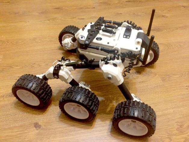 Hitec Aurora 9x ve Martian Rover için mix yardımı