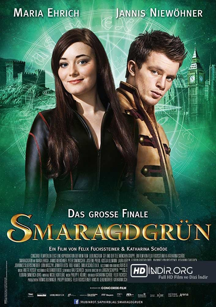 Zümrüt Yeşil - Smaragdgrün İndir (2016) Türkçe Dublaj HD