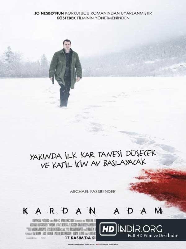Kardan Adam - The Snowman (2017) Türkçe Dublaj HD İndir İzle