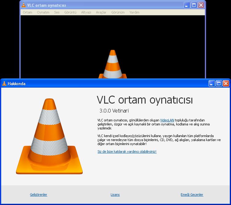 VLC (VideoLAN) Media Player 3.0.0 | Katılımsız
