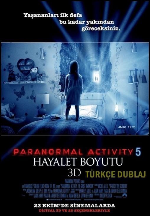 Paranormal Activity 5: Hayalet Boyutu – Paranormal Activity: The Ghost Dimension 2015 BRRip XviD Türkçe Dublaj – Tek Link