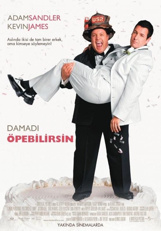 Damadı Öpebilirsin - I Now Pronounce You Chuck & Larry (2007) - türkçe dublaj film indir