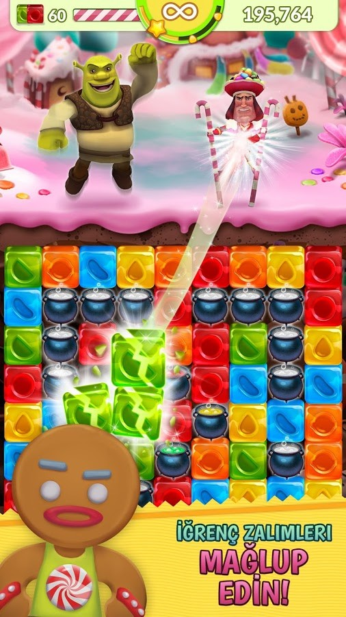 Shrek Sugar Fever Android