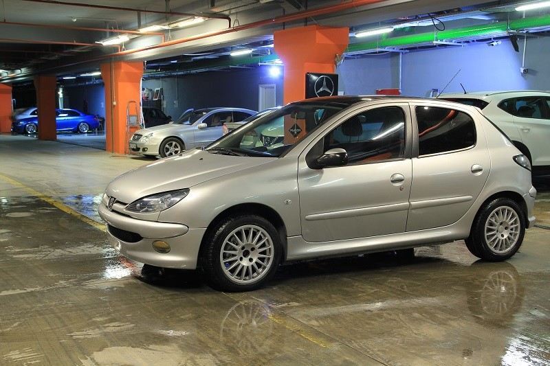 peugeot 206 1.4 hdi panoramic 2005 model 21.900 tl galeriden