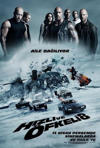 Hızlı ve Öfkeli 8 - The Fate of the Furious (2017) BRRip XviD Türkçe Dublaj İndir