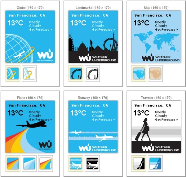 Free Weather Stickers