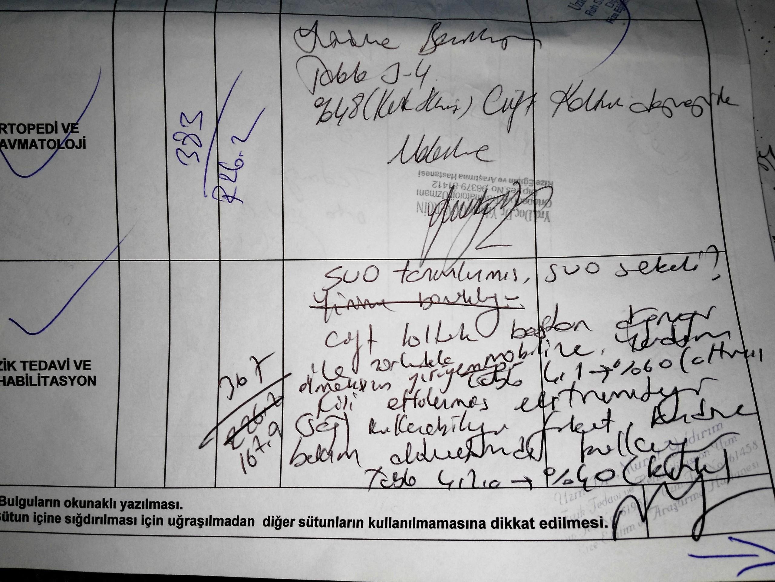 bJrqbd - Babamın rahatsızlıklarından dolayı ÖTV indirimi için yeterli oranda rapor..?