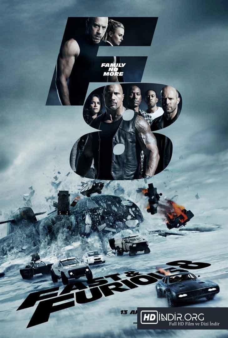 Hızlı ve Öfkeli 8 - The Fate of the Furious (2017) Türkçe Dublaj HD İndir