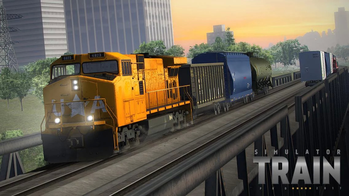 Train Simulator PRO 2018 Apk