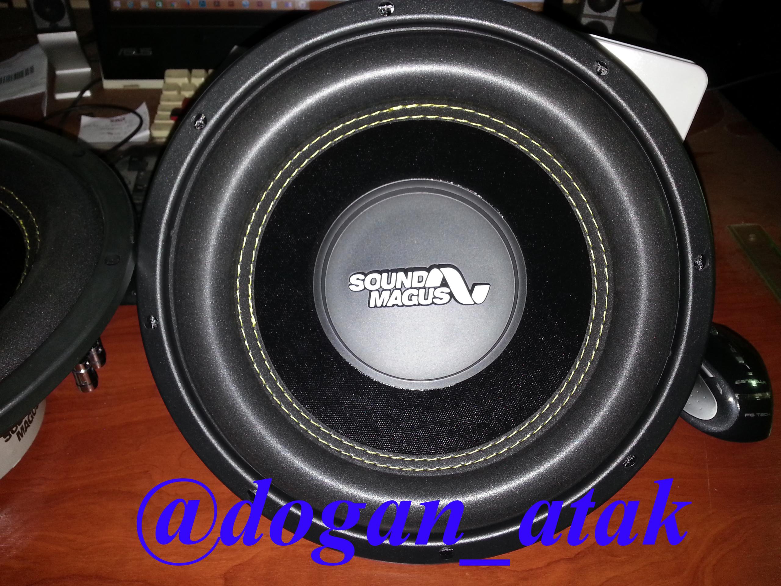 Doğan Atak Sound Magus Sm 12 P Subwoofer 04