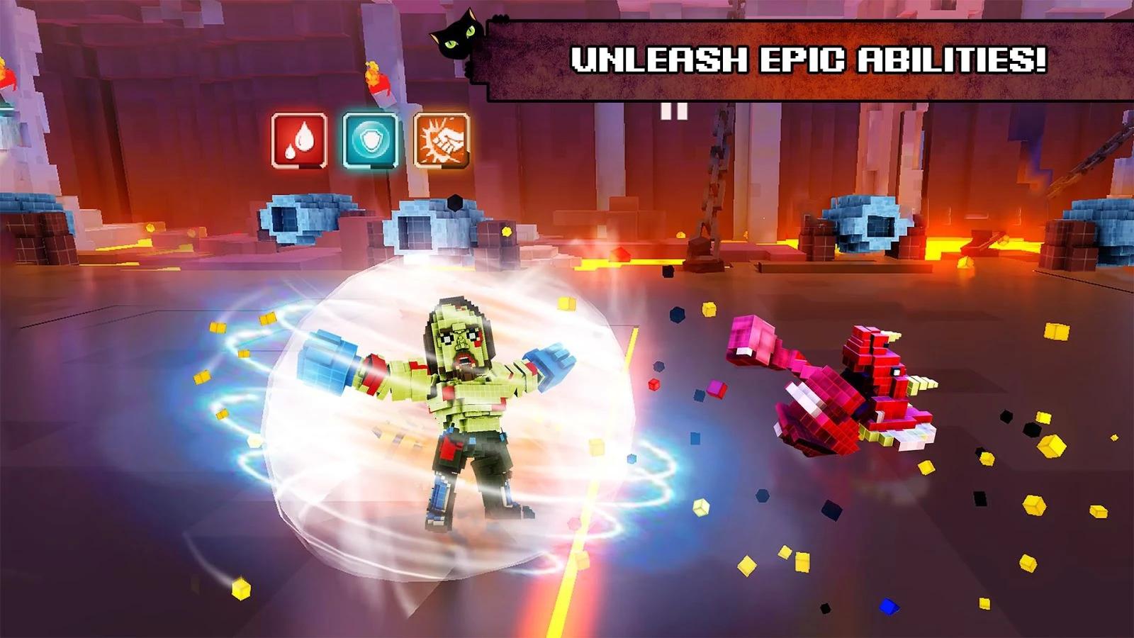Super Pixel Heroes Apk Mod