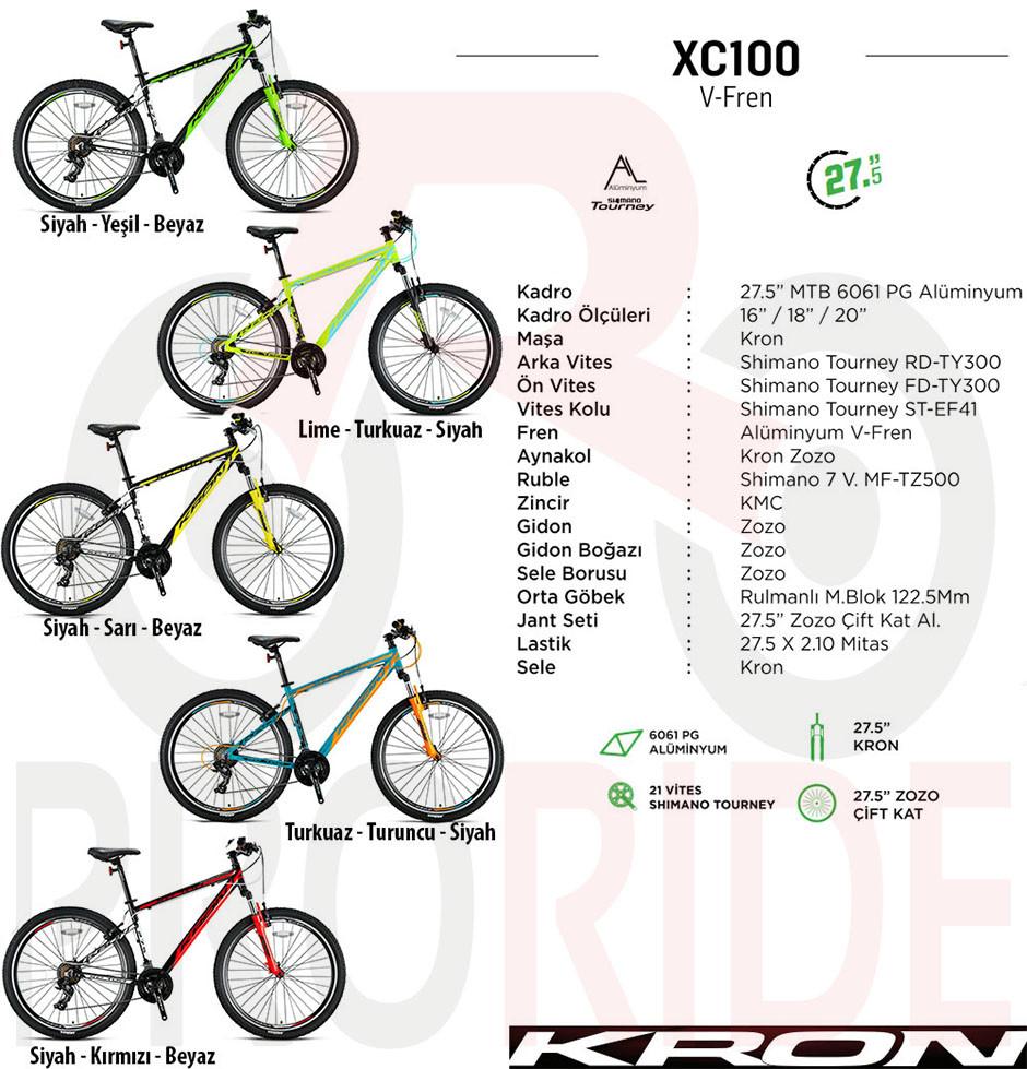 2019 model kron xc100 v-fren