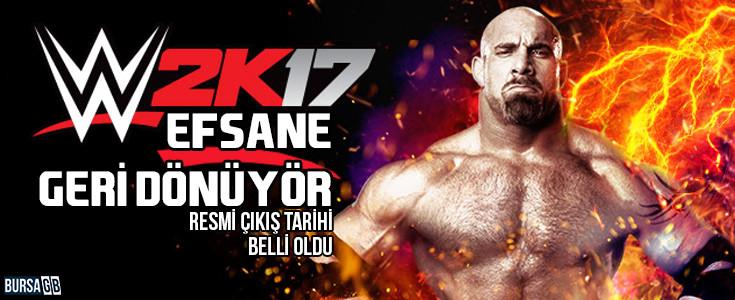WWE 2K17 Çıkışı Resmi Olarak Duyuruldu