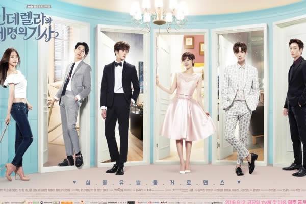 """""""Cinderella with Four Knights"""" Dizisinin Yeni Bir Afişi Yayımlandı"""