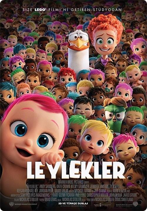Leylekler - Storks 2016 (Türkçe Dublaj) BDRip XviD