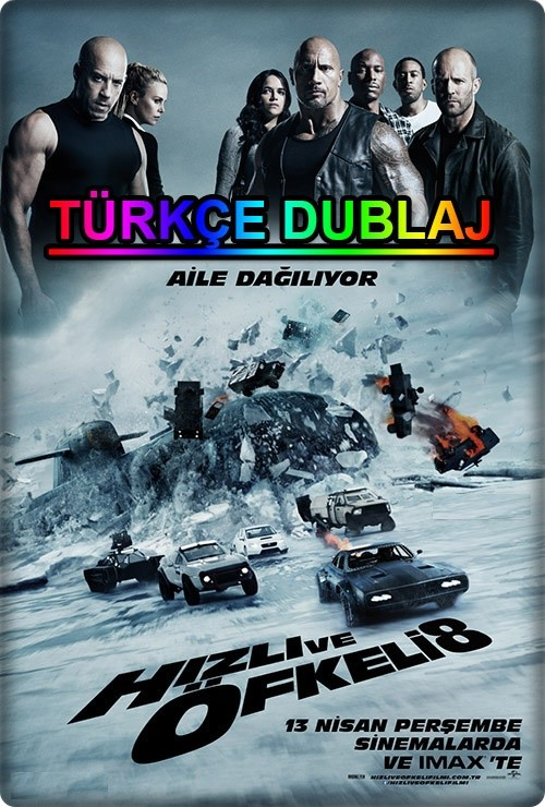 Hızlı ve Öfkeli 8 - The Fate of the Furious 2017 (Türkçe Dublaj) WEB-DL XviD