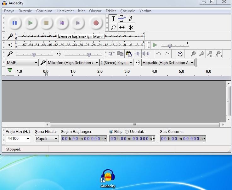 Audacity 2.2.2 Türkçe | Katılımsız