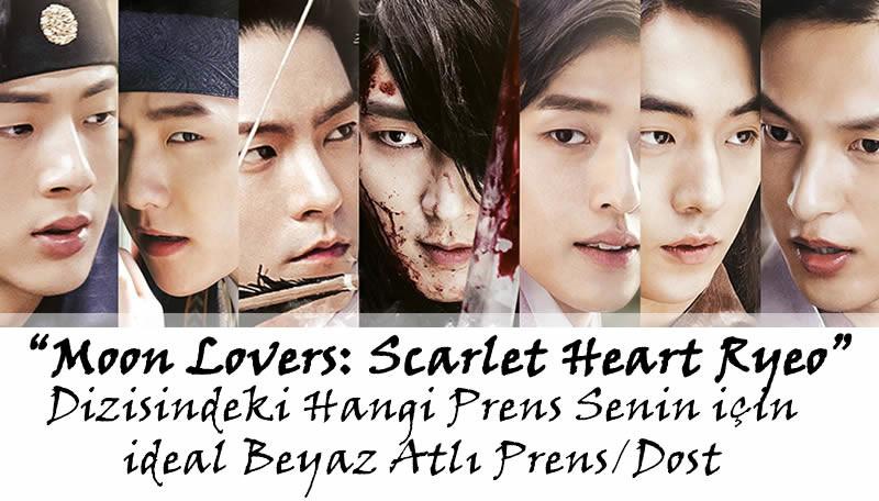 """""""Moon Lovers: Scarlet Heart Ryeo"""" Dizisindeki Hangi Prens Senin İçin İdeal """"Beyaz Atlı Prens""""/""""Dost""""?"""