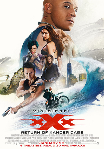 xXx: The Return Of Xander Cage ML PAL DVD9 Untouched (2017)