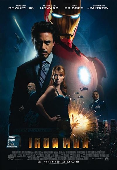 Iron Man - Demir Adam (2008) m720p - m1080p DUAL indir