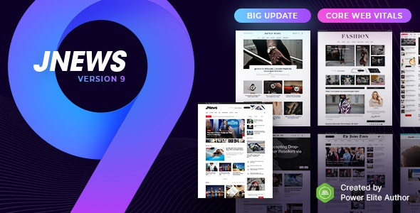 JNews 9.0.3 + Plugins - WordPress Newspaper Magazine Blog AMP Theme - WeaPlay