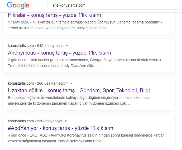 Google'ın yeni arayüzü