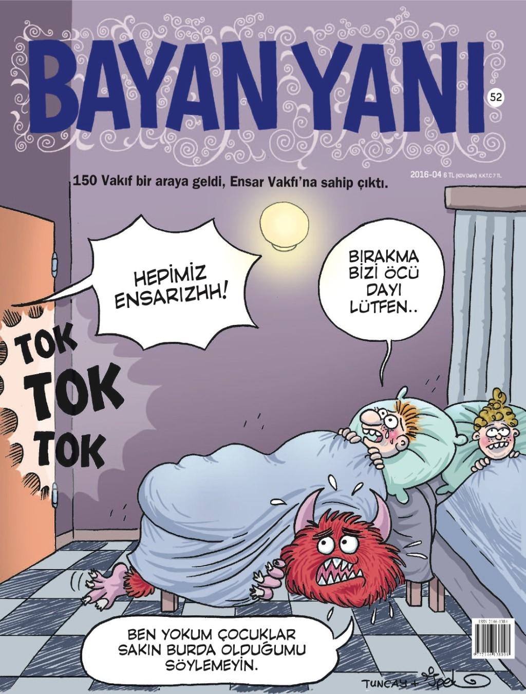 Bayan Yanı Nisan E-dergi indir Sandalca.com