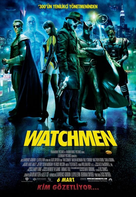 Watchmen (2009) - tek link türkçe dublaj film indir