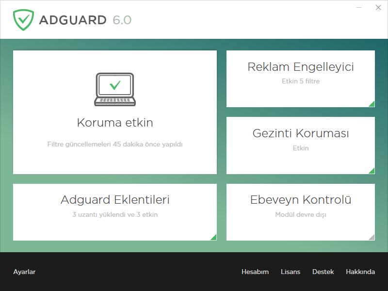 Adguard Premium 6.0.226.1108 | Katılımsız