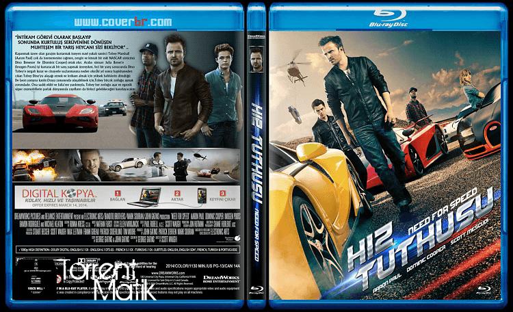 Hız Tutkusu - Need For Speed (2014)  720P BluRay  Türkçe Altyazılı Torrent İndir