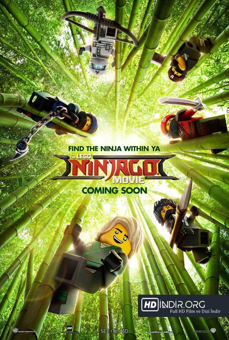 Lego Ninjago Filmi - The Lego Ninjago Movie (2017) Türkçe Dublaj HD Film indir