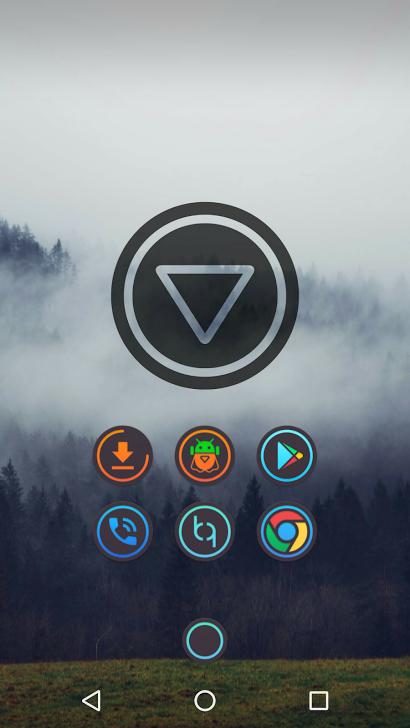 NAZG Dark - Icons Apk Full