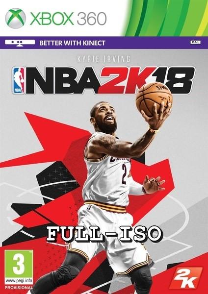 NBA 2K18 Xbox 360 Oyun İndir [MEGA] [FULL-ISO] [Region Free]