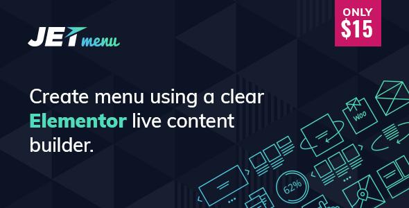 JetMenu v1.1.1 - Mega Menu for Elementor Page Builder Full İndir
