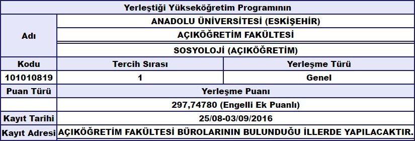 d86dYV - Engelli öğrenciye üniversiteye girişte Ek Puan veya Kontenjan var mı?