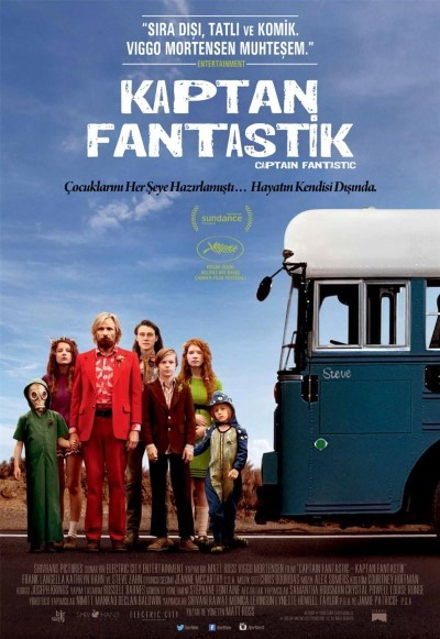 Kaptan Fantastik - Captain Fantastic (2016) türkçe altyazılı film indir