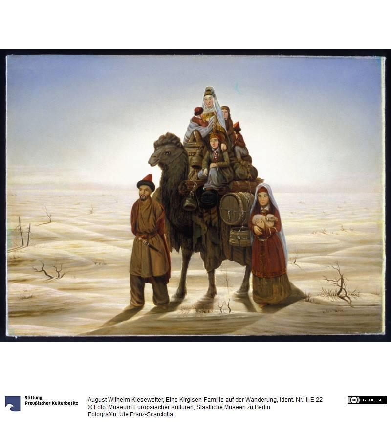 Лошадей казахи тоже покрывали кольчугами, как средневековые рыцари