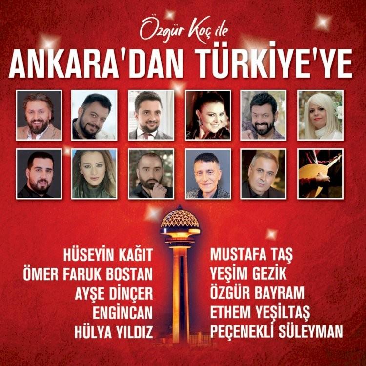 Çeşitli Sanatçılar - Özgür Koç İle Ankara'dan Türkiye'ye (2021)