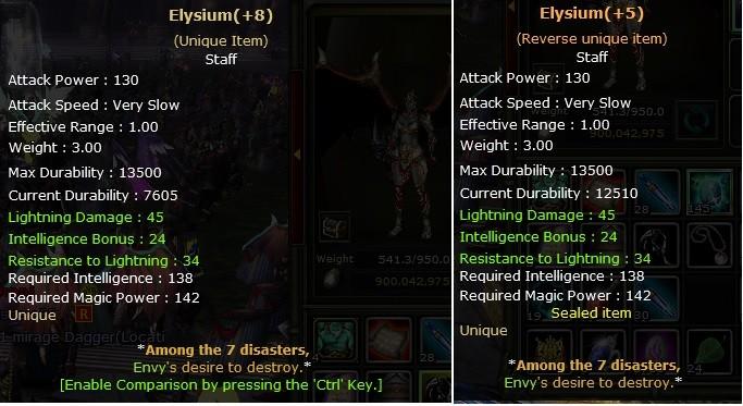 2 adet +8 elysium biri +5 rebirth yazılan fiyat 1 adet fiyatıdır