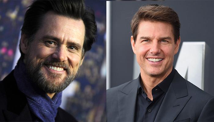 Tom Cruise ve Jim Carrey - 55 yaşında